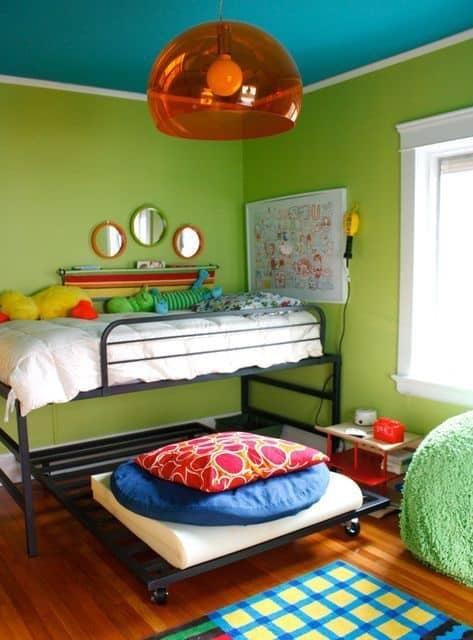 Bedroom False Ceiling Colour