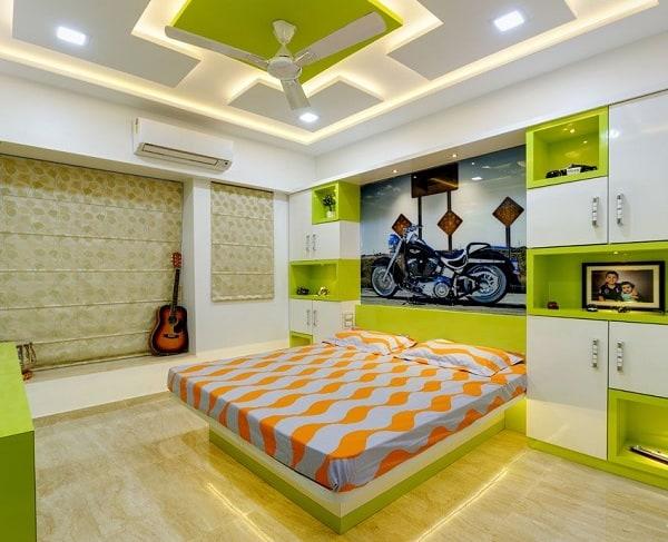 Decorative Colored False Ceiling