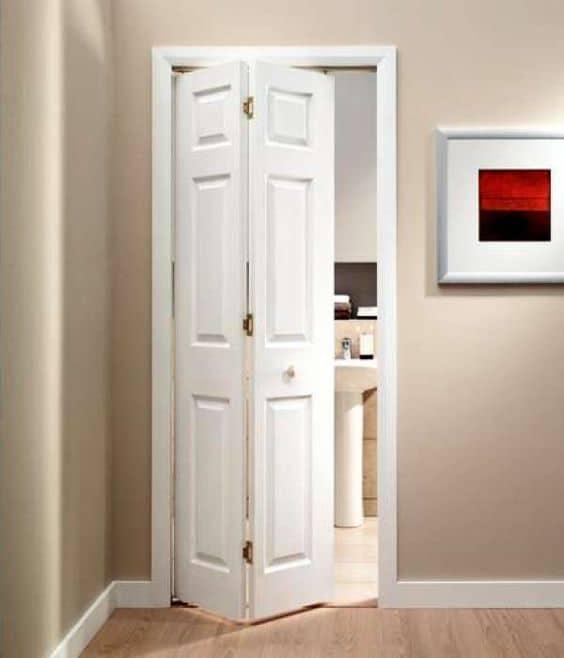 Folding Bathroom Door