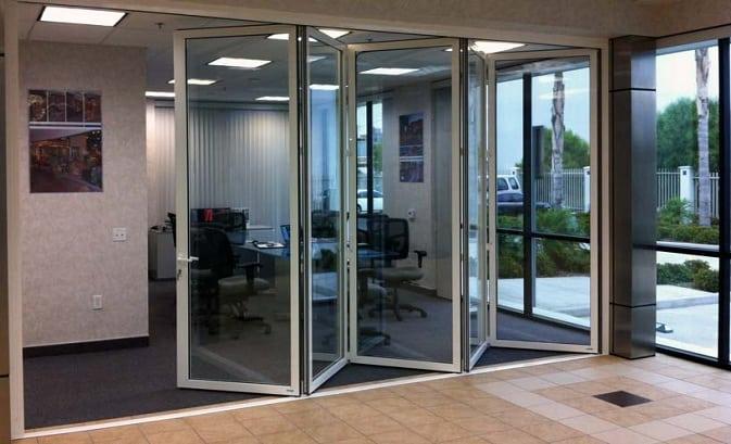 Folding Office Doors