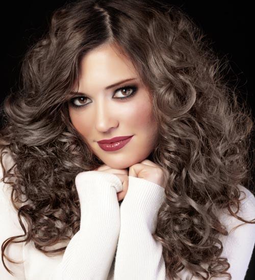 Curly Dense Long Thick Hair