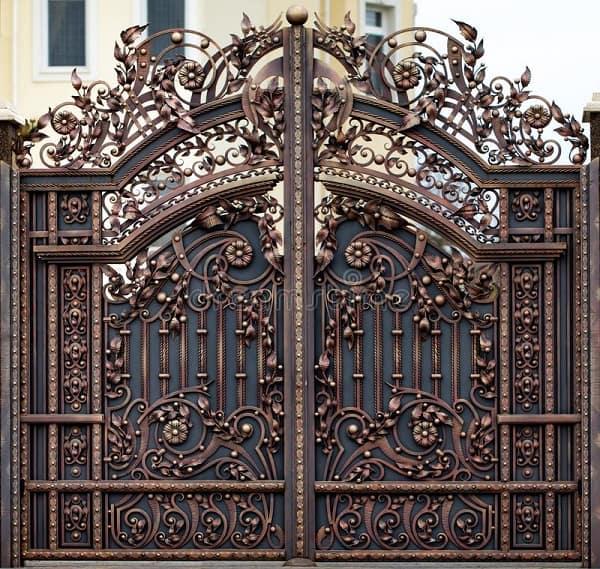 Fancy Iron Gate