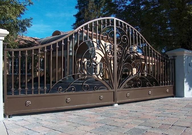 Ornamental Iron Gate Designs