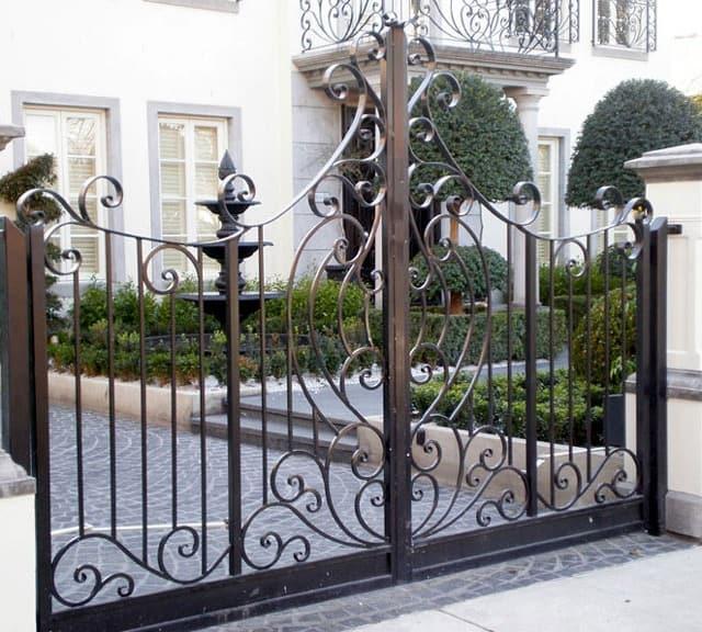 Readymade Iron Gates
