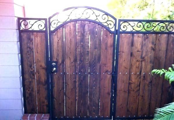Rustic Iron Gate Designs