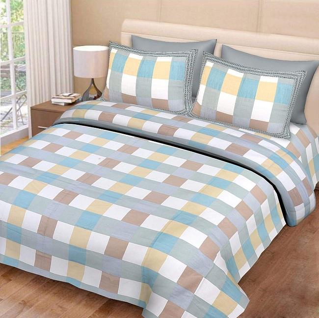 Modern king size bed sheet designs