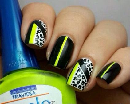 Leopard Nail art5