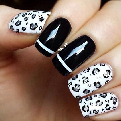 Leopard Nail art6