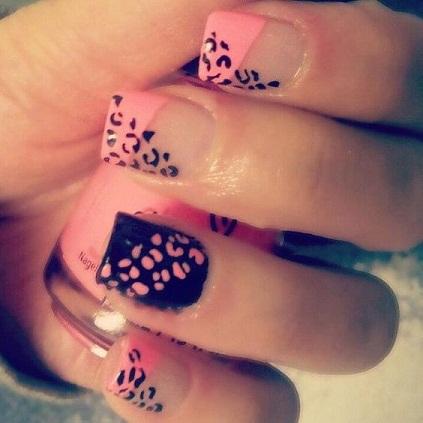Leopard Nail art7