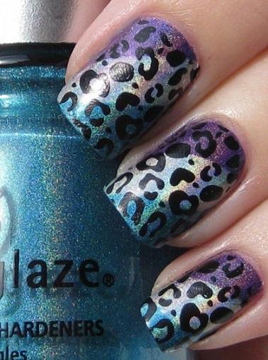 Leopard Nail art8