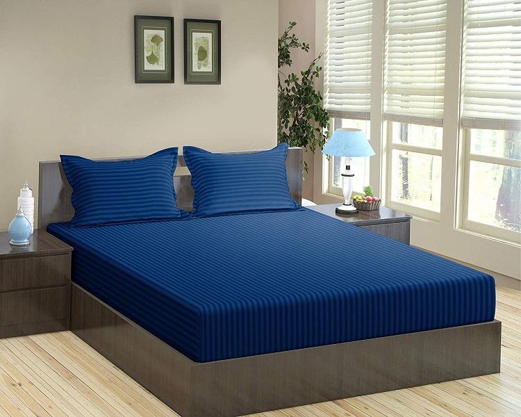 Simple linen bed sheet designs