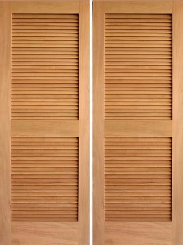 Wooden Louvre Doors