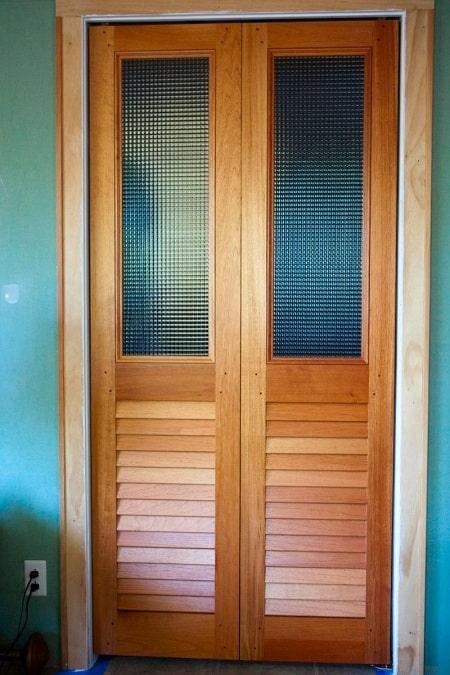 Oak Louvre Doors