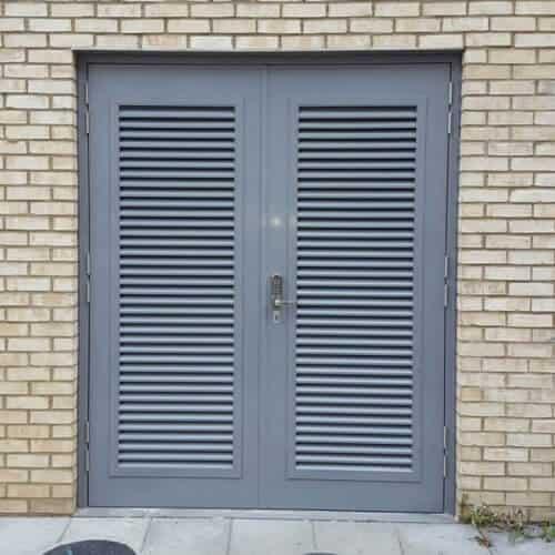 Metal Louvre Doors