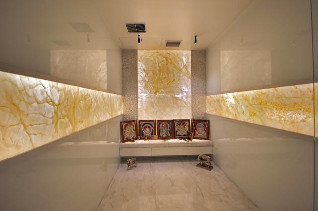 pooja room pop ceiling designs