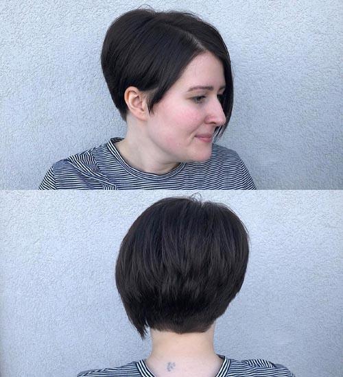 Short Layered Hairstyle 7