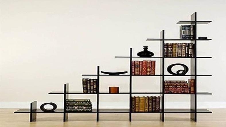 drawing room wall showcase designs