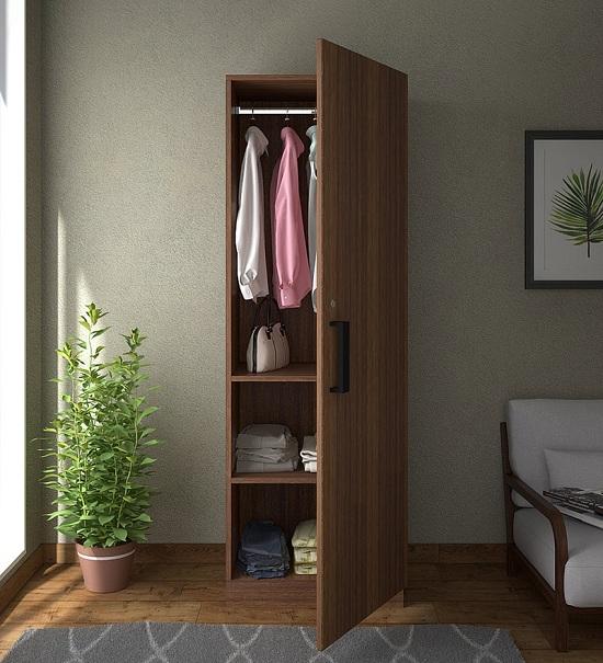 Simple Single Door Wardrobe Designs