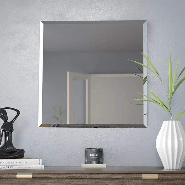 Simple square mirror designs