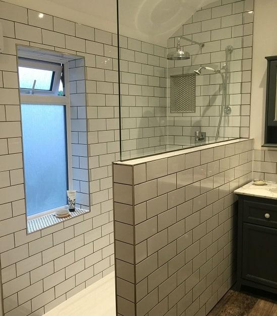 Bathroom Door With Window
