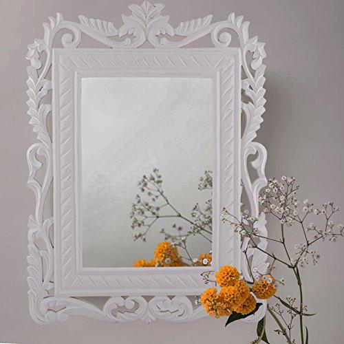 wooden mirror frame design