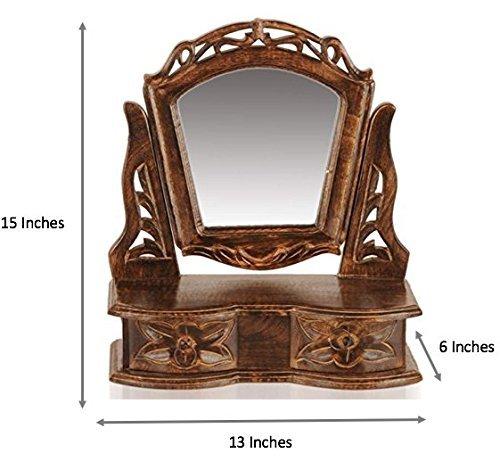 unique wooden mirrors