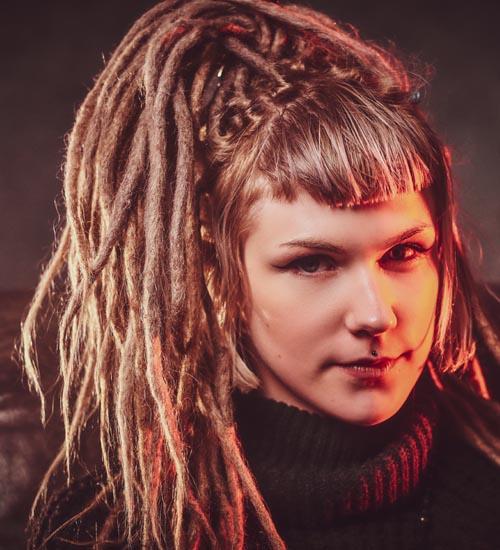 Dreadlock Hairstyles For Women 7