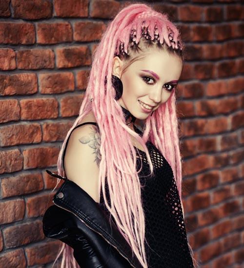 Dreadlock Hairstyles For Women 8