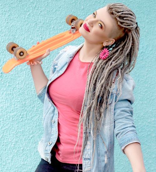 Dreadlock Hairstyles For Women 9