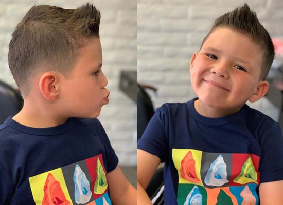 Latest Hair Lift Style for Boys