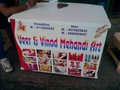 Veer and Vinod Mehndi Artist