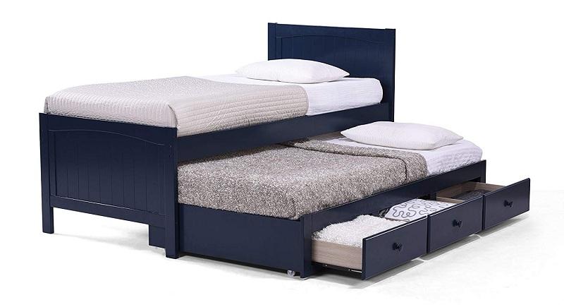 Urban Ladder Murphy Bed Trundler Size Rubberwood