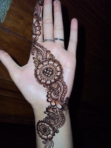 rakhi mehndi designs