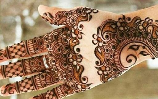 mehandi design for raksha bandhan