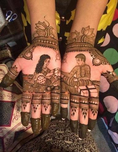 mehndi designs for Raksha Bandhan