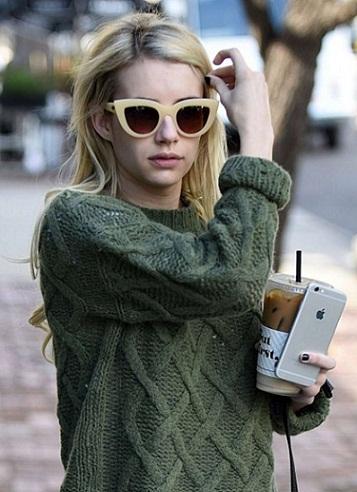 Emma Roberts without makeup 2