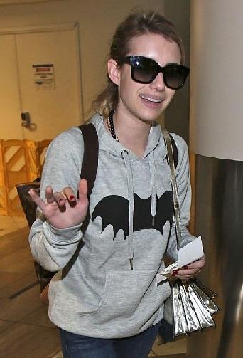 Emma Roberts without makeup 4