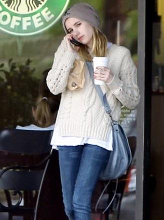 Emma Roberts without makeup 5