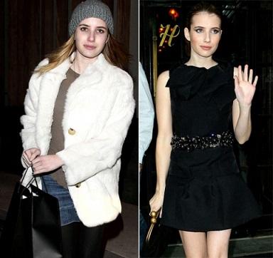 Emma Roberts without makeup 8