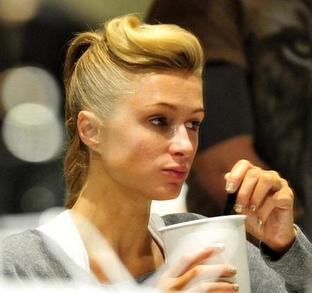 Paris Hilton without makeup10