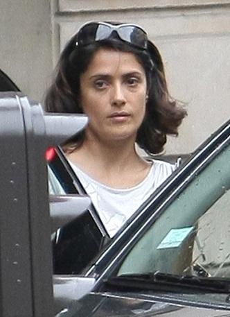 Salma Hayek without Makeup