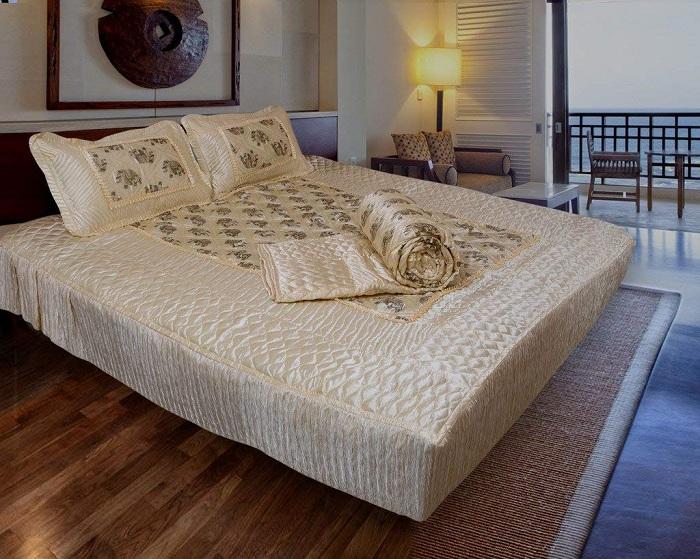 Latest silk bed sheet designs