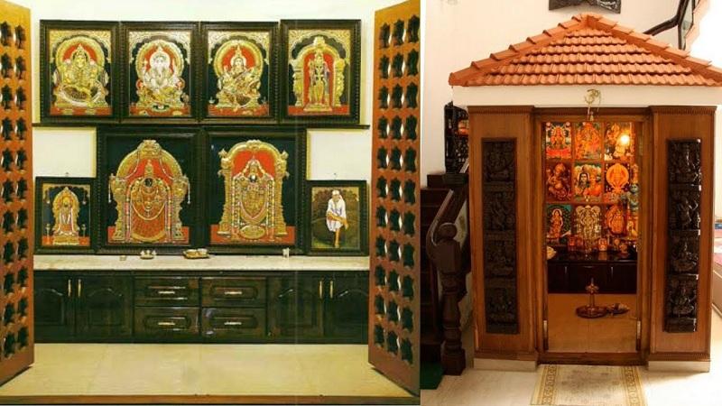 Simple Pooja Room Designs In Wood