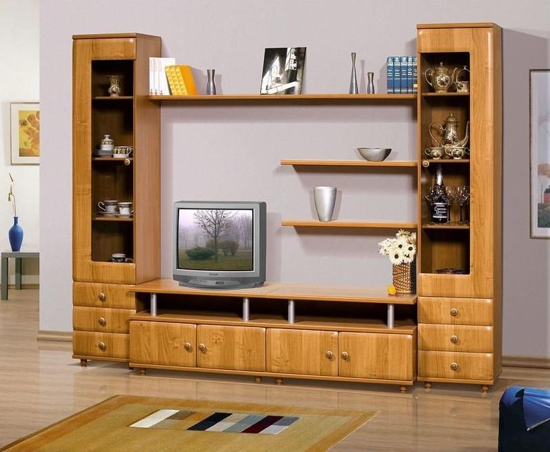 wooden showcase designs for living room