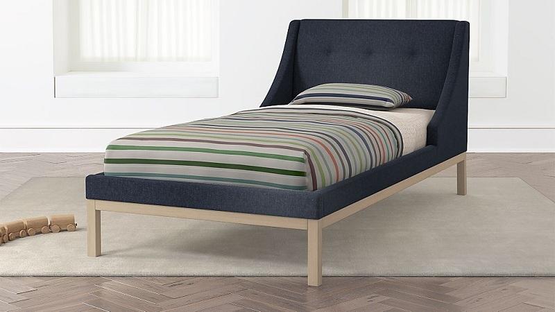 modern sleigh beds