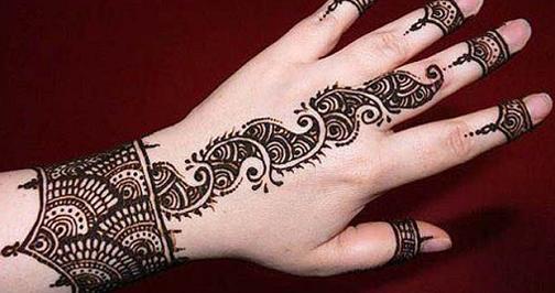 Teej Mehndi Easy to do