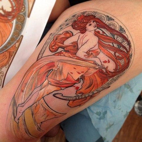 Pinup Girls Tattoo Designs