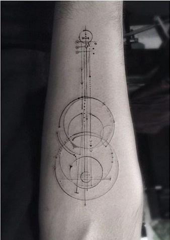 Musical Tattoo Designs