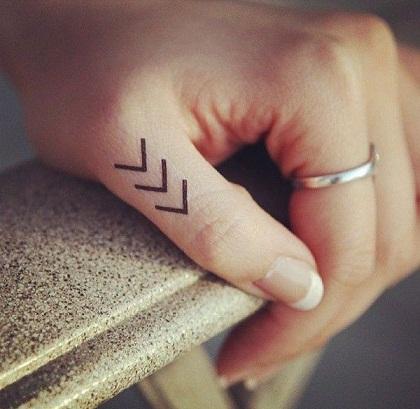 Tattoos On Finger