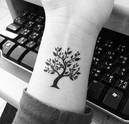 Nature Tree Tattoos